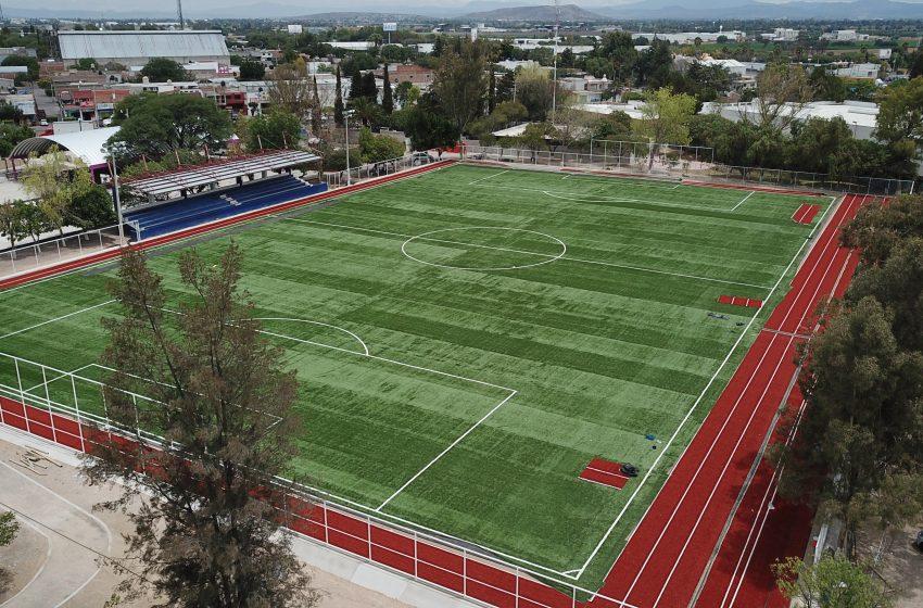 Gobierno realizó inversión en infraestructura deportiva durante 2019