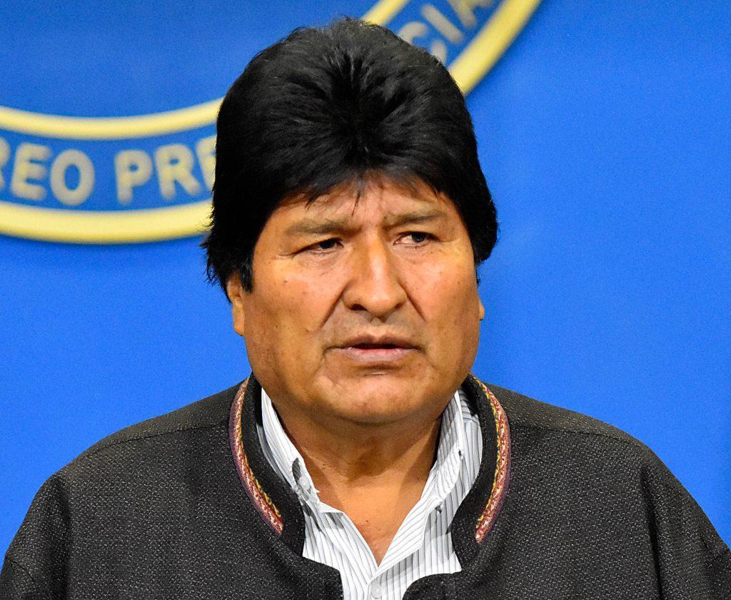 Giran orden de aprehensión contra Evo Morales por terrorismo
