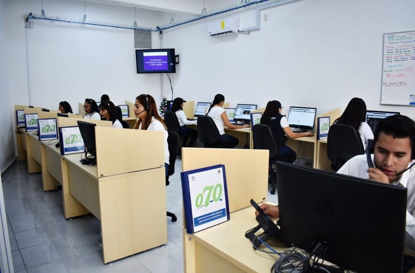Fortalece municipio de Querétaro atención en línea 070