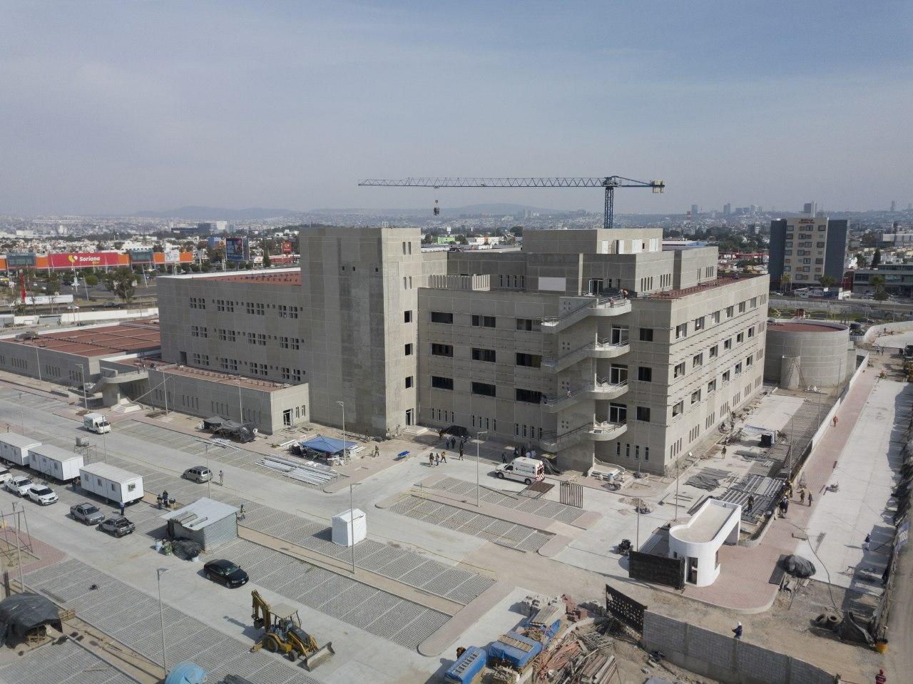 Aún no hay fecha de inauguración para nuevo Hospital General de Querétaro