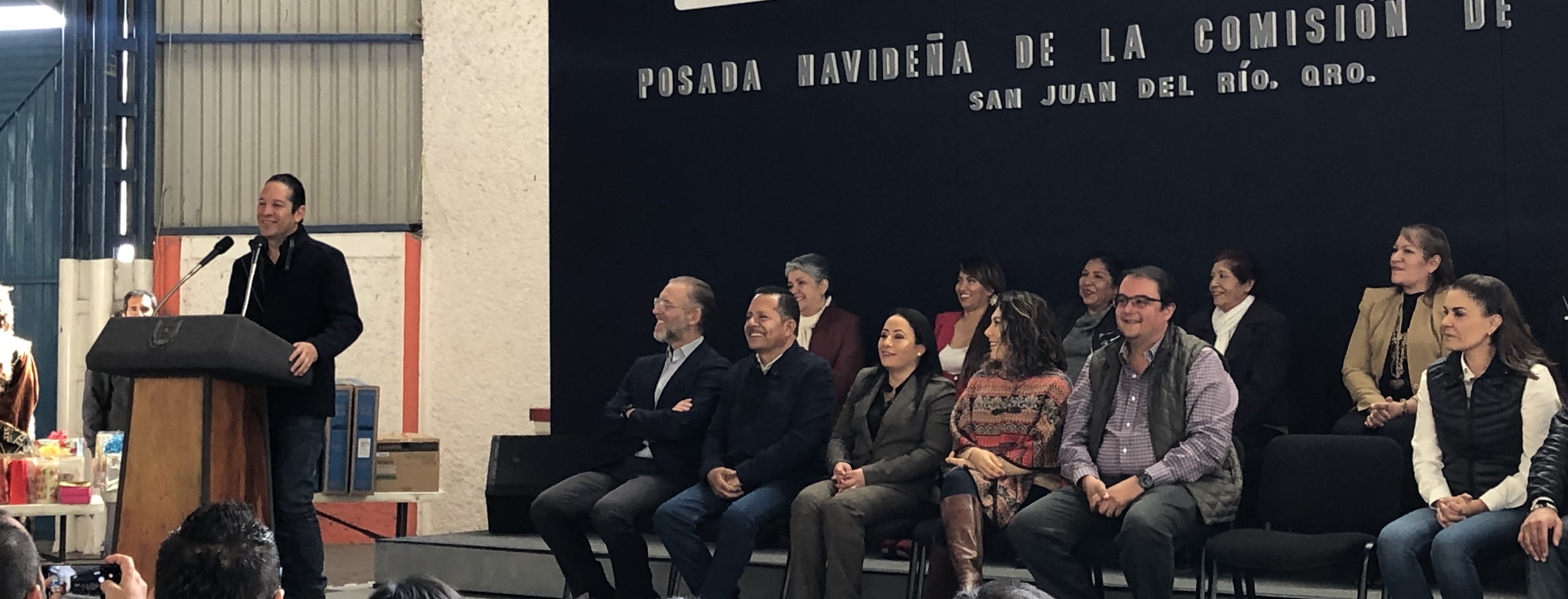 FDS anuncia apoyos para obras sociales y mujeres en San Juan del Río