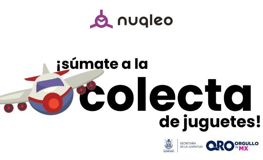 Amplía Sejuve hasta el 10 de enero colecta de juguetes para niños de escasos recursos