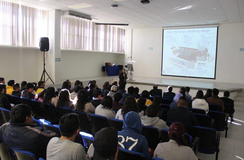 UTSJR instruye a estudiantes y personal de industrias sobre uso de Tecnología Eólica