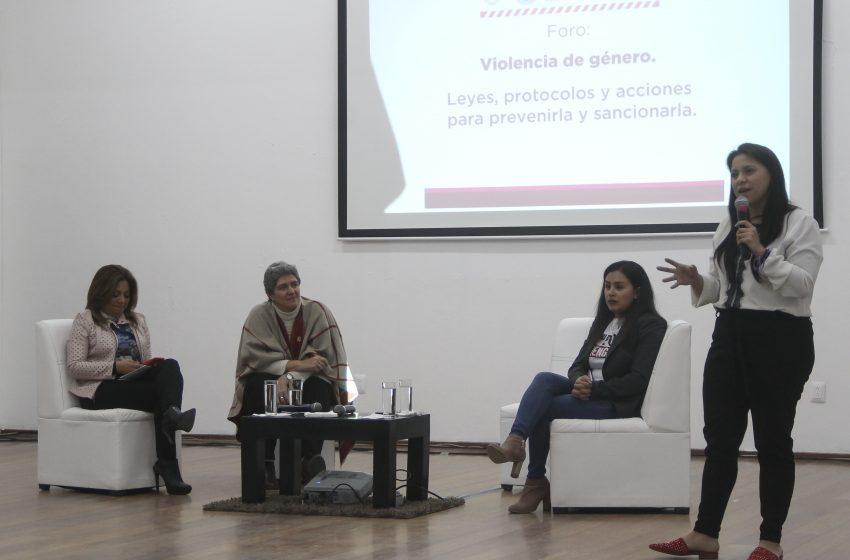 UAQ promueve acciones contra la violencia de género