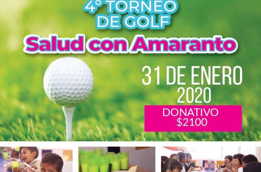 México Tierra de Amaranto invita a su 4to Torneo de Golf