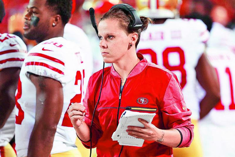 Conoce a la primera mujer entrenadora en disputar un Super Bowl