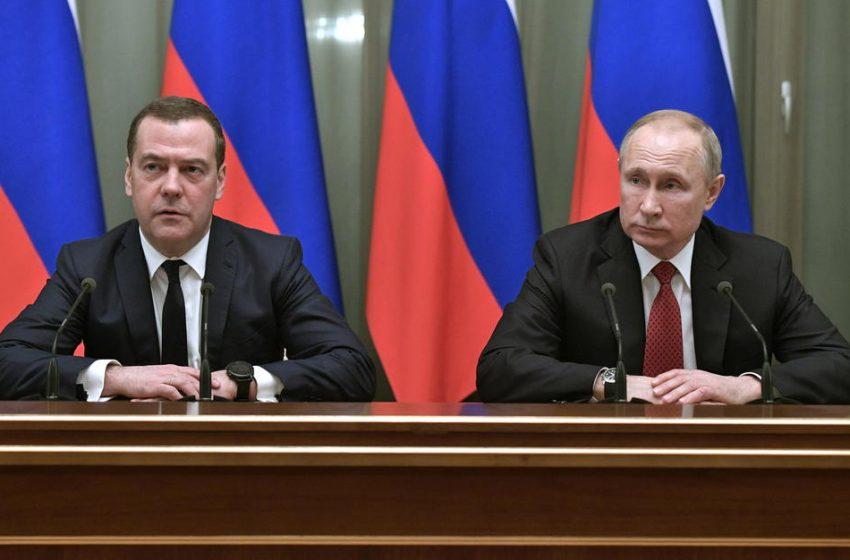 Renuncian primer ministro ruso y su gabinete