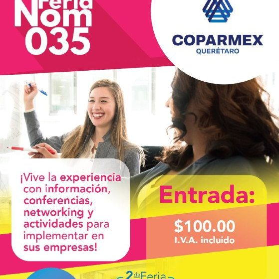 Coparmex Querétaro anuncia Feria Bienestar para empresas