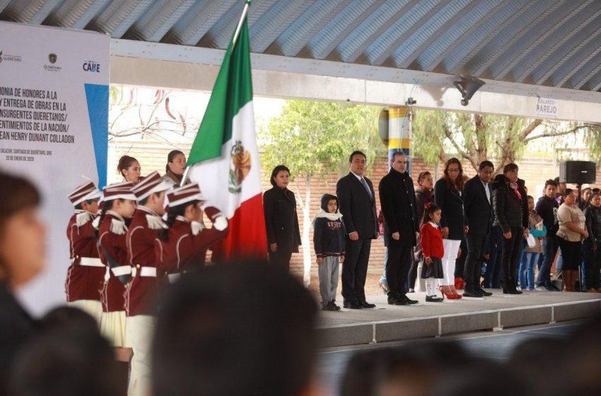 Mejorar espacios educativos, prioridad del municipio de Querétaro