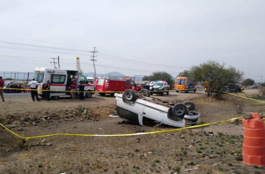 Mujer pierde la vida tras accidente en la carretera estatal 540
