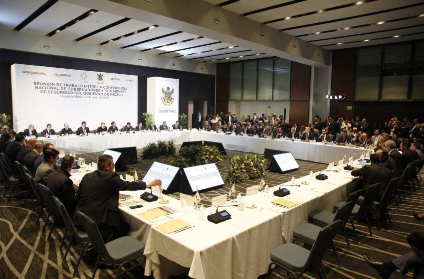 Pide FDS que se respeten criterios de cada entidad durante reunión de Conago con Durazo
