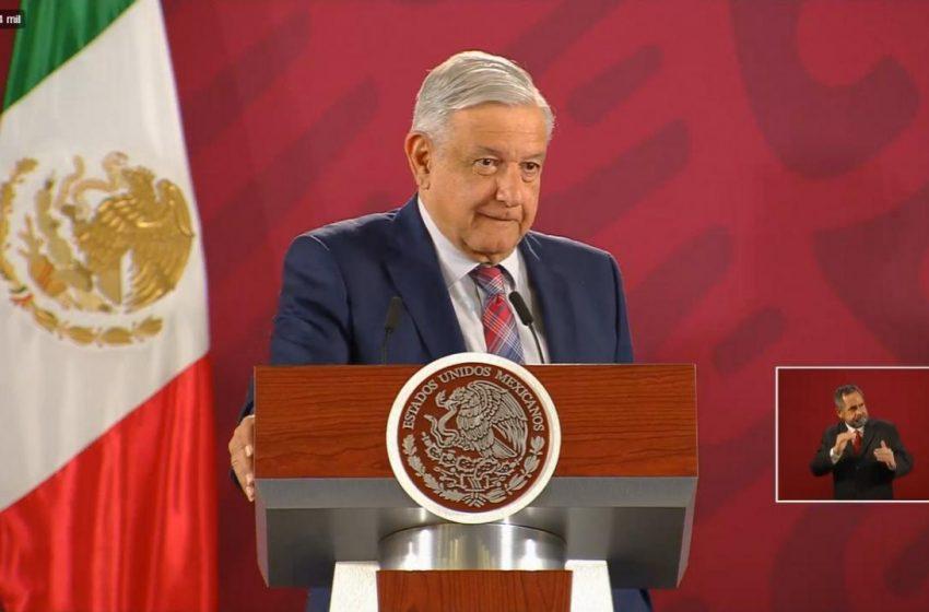 En un año se consolidará el Insabi, confía López Obrador