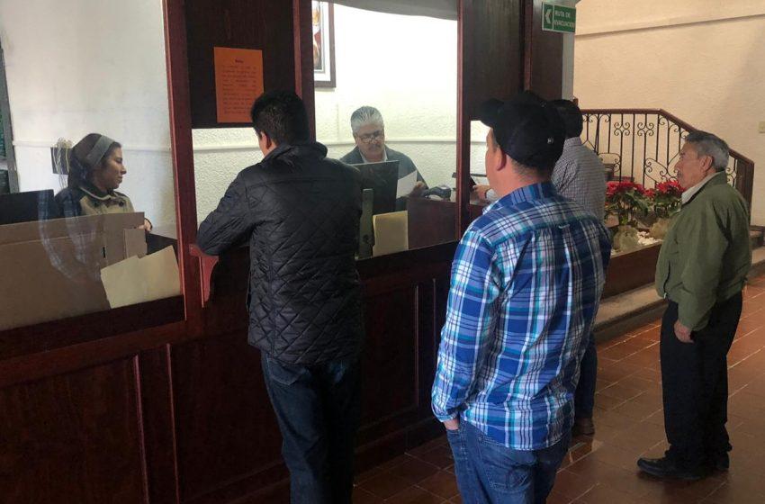 Ezequiel Montes arranca campaña de descuento sobre el impuesto predial.