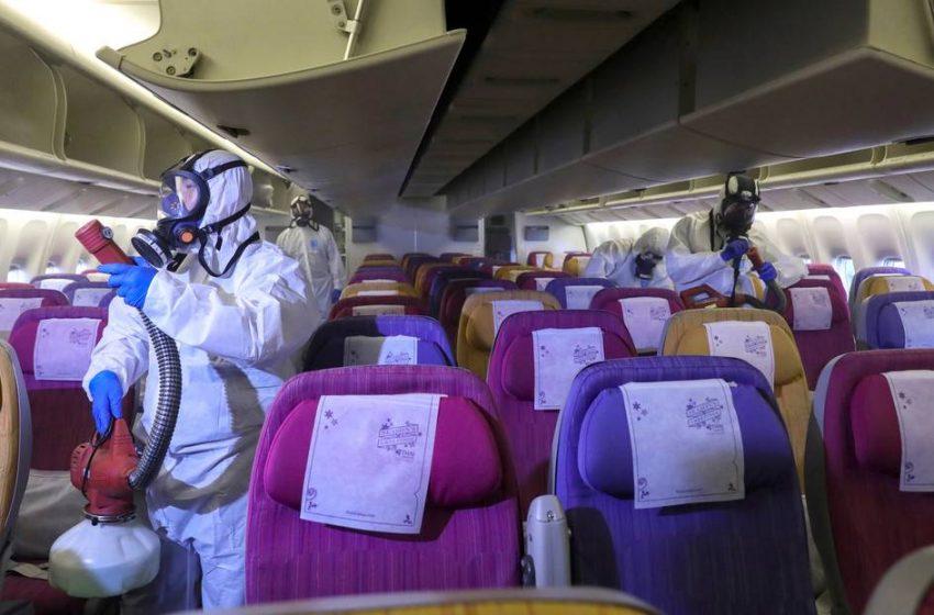 China confirma suspensión de vuelos de 46 aerolíneas por coronavirus