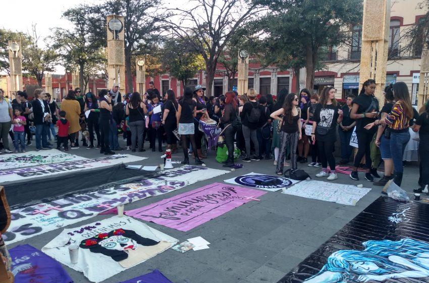 Tras asesinato de Ingrid Escamilla, mujeres de Querétaro se suman a protestas contra feminicidios