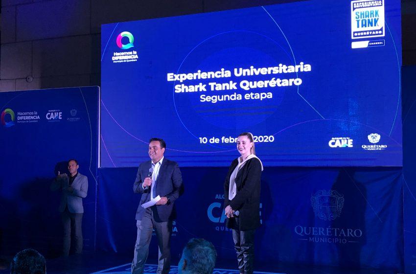 Presentan proyectos finalistas de la segunda etapa de Shark Tank Querétaro