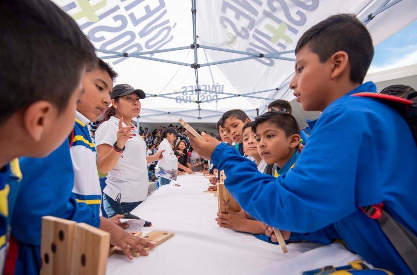 DIF de El Marqués imparte talleres a niños y adolescentes para prevenir factores de riesgo