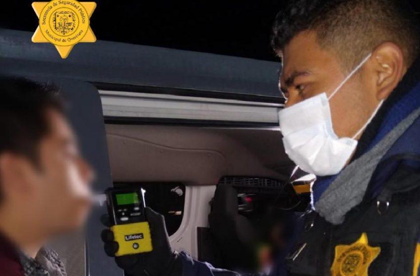 43 detenidos por sobre pasar niveles de alcohol
