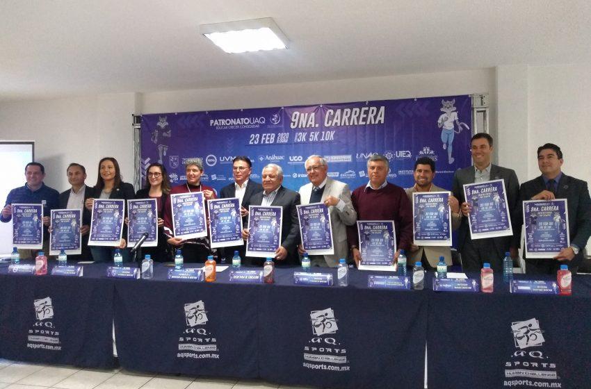 """Anuncian novena carrera """"Universitarios por Siempre"""""""