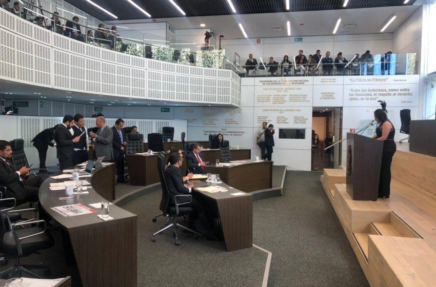 Anuncia Pancho Domínguez reformas al Código Penal que aprobó el Congreso el pasado abril