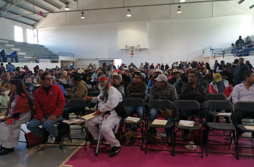 Indígenas de Amealco presentarán pliego petitorio a López Obrador