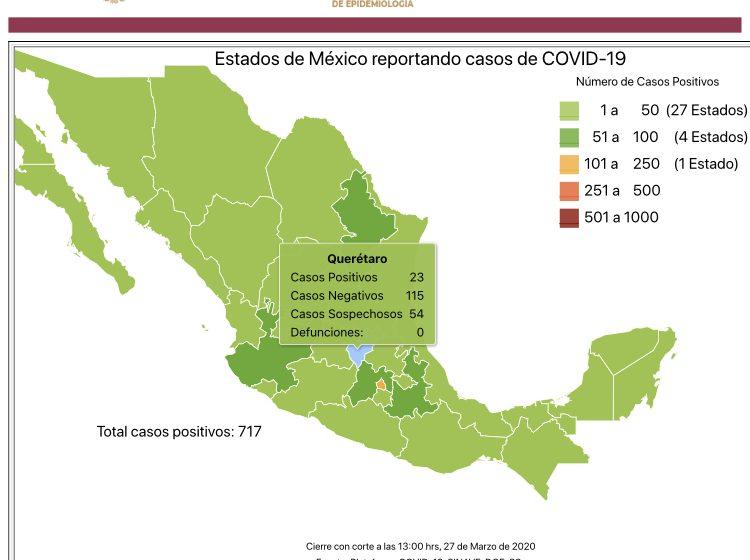 Hay 12 muertos en México por coronavirus