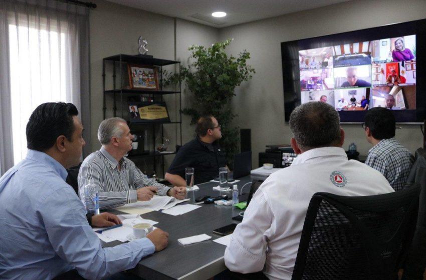 Luis Nava sostiene reunión virtual con alcaldes del país para hacer frente al COVID-19