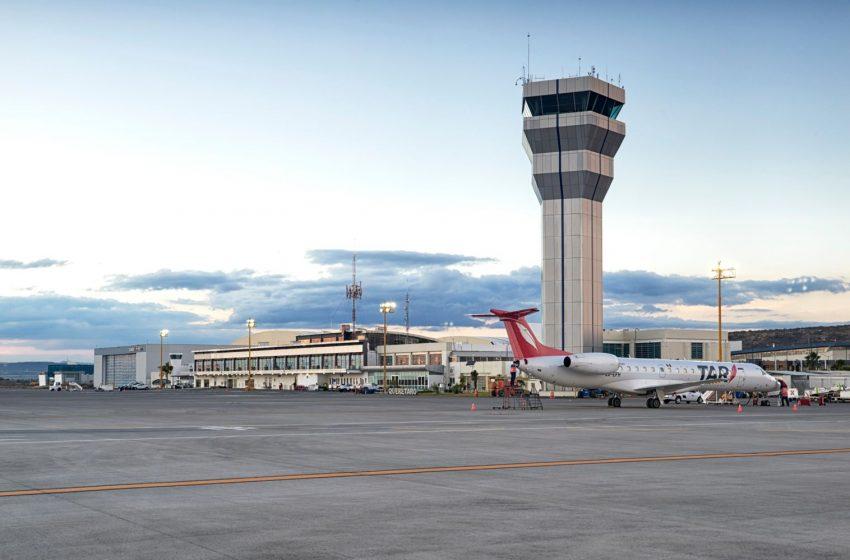 Avioneta se accidenta al aterrizar en el Aeropuerto Internacional de Querétaro
