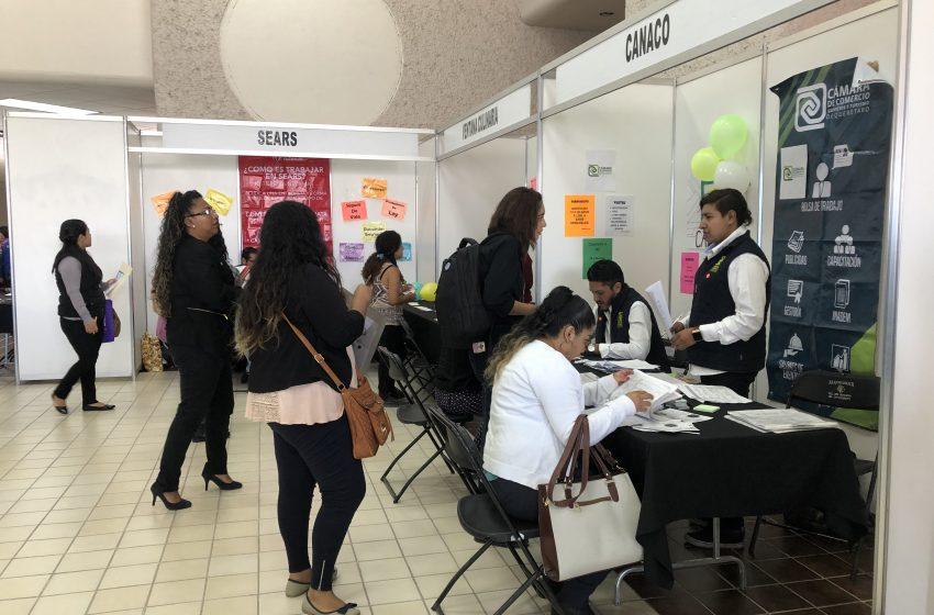 Ante brote de coronavirus, se suspenden las ferias de empleo en Querétaro