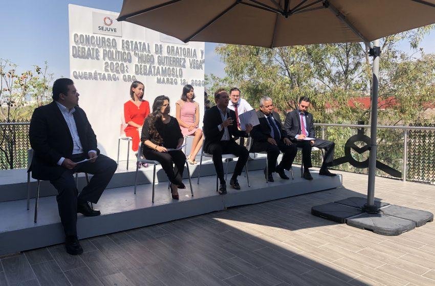 Lanzan convocatoria para concurso de oratoria Hugo Gutiérrez Vega