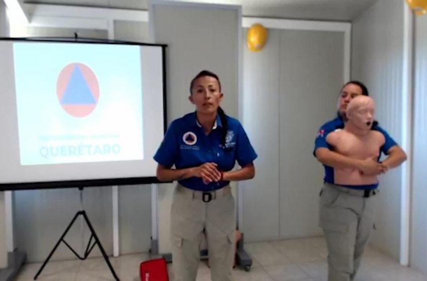 Municipio de Querétaro transmite videos para ayudar a la población a extremar precauciones