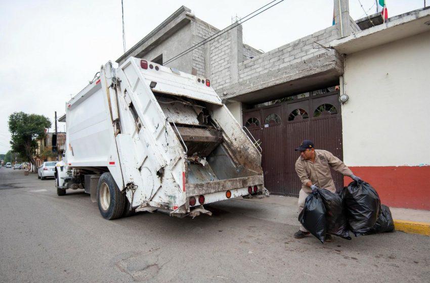 Se reforzará recolección de basura en El Marqués durante contingencia sanitaria