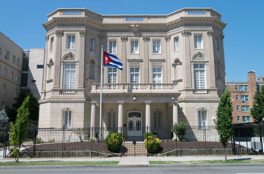 Desconocido dispara contra embajada de Cuba en Washington