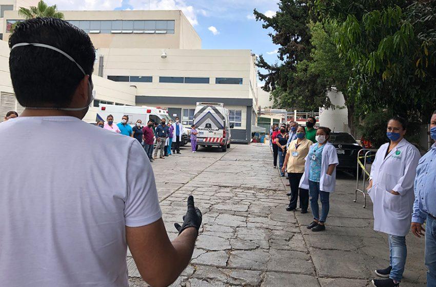 Ayudan a quienes nos cuidan: Fundación Imanai reparte comida en los hospitales COVID de Querétaro