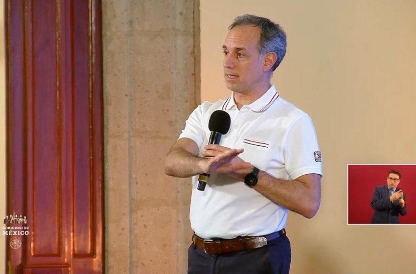 Llegará cargamento con insumos médicos desde China, anuncia López-Gatell