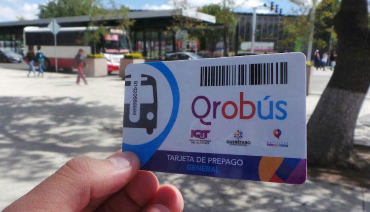 Usuarios podrán cambiar apoyo Qrobús durante la segunda quincena de junio