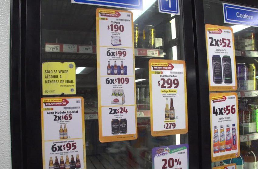 Venta de alcohol se suspenderá en la capital a partir de las seis de la tarde del día 15