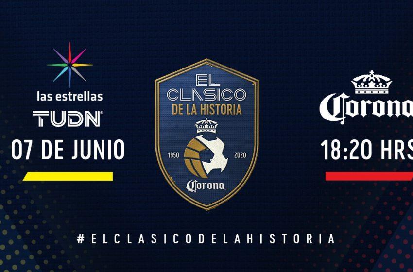 """Corona traerá de nuevo el fútbol a México con el """"Clásico de la historia"""""""