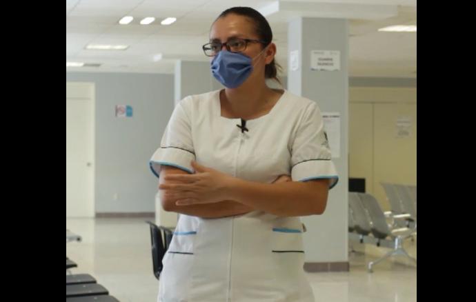 Vencer el miedo para poder trabajar ¿Cómo vive el personal médico la pandemia?