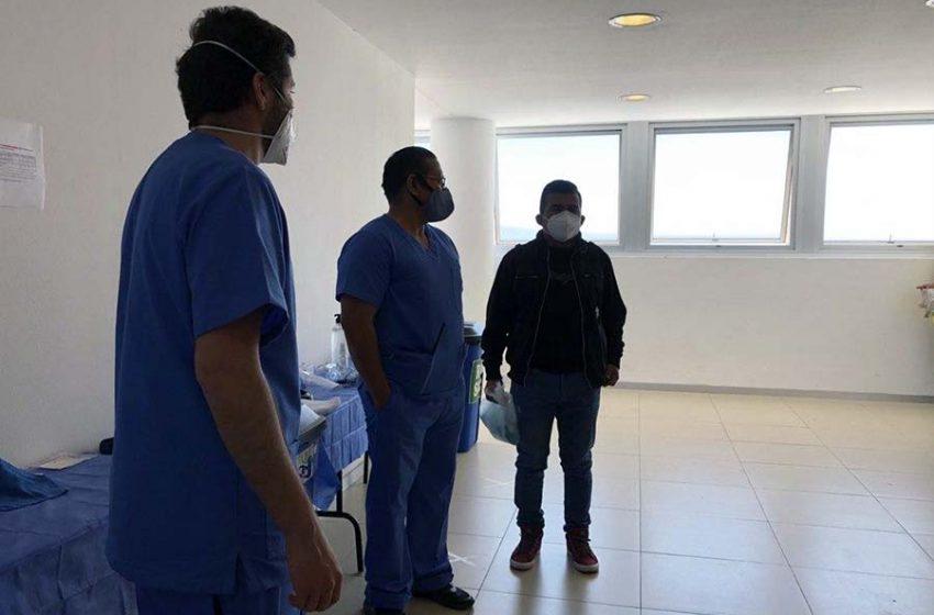 """""""En cualquier momento se puede presentar la enfermedad"""": La experiencia de un militar recuperado de COVID-19"""
