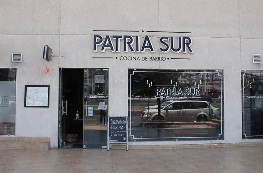Restaurante Patria Sur: adaptarse y sobrevivir a la pandemia