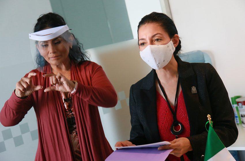 Salud, tema prioritario para la Legislatura local: Connie Herrera