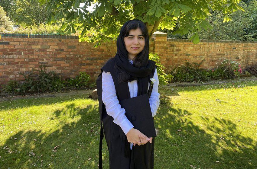 Malala se graduó de Oxford