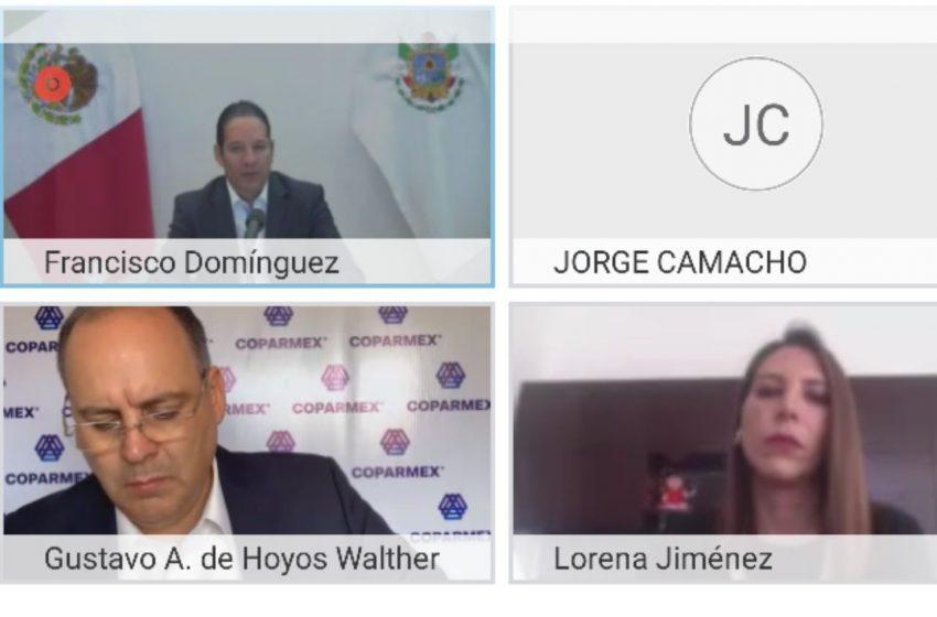 Va por su tercer periodo; Lorena Jiménez rinde nuevamente protesta como presidenta de Coparmex