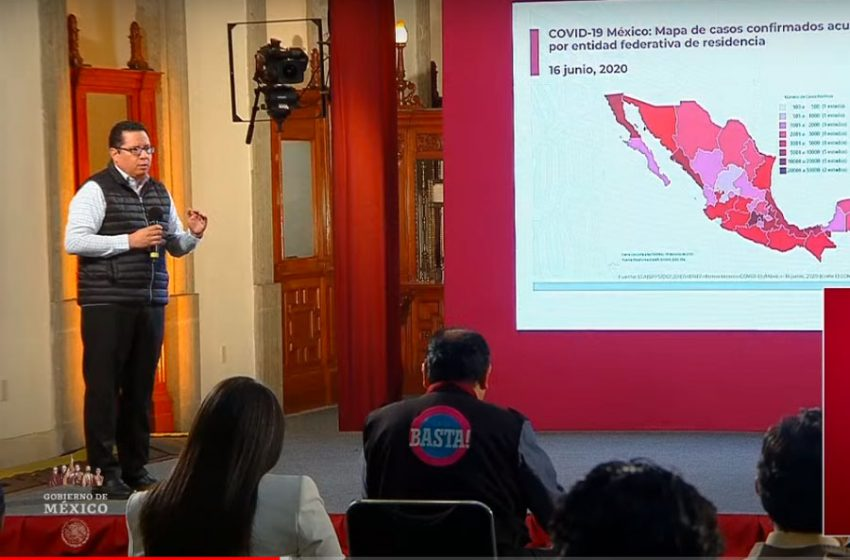 México registra 154 mil 863 contagios de COVID-19 para este martes