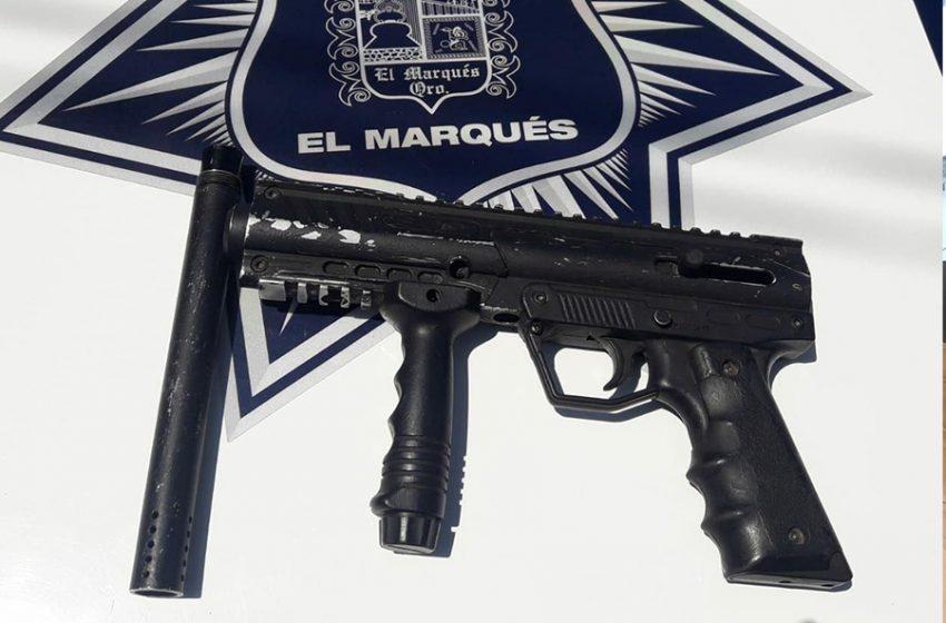 """Detienen al """"Chilanga"""" por portación de arma prohibida en la comunidad de El Paraíso"""
