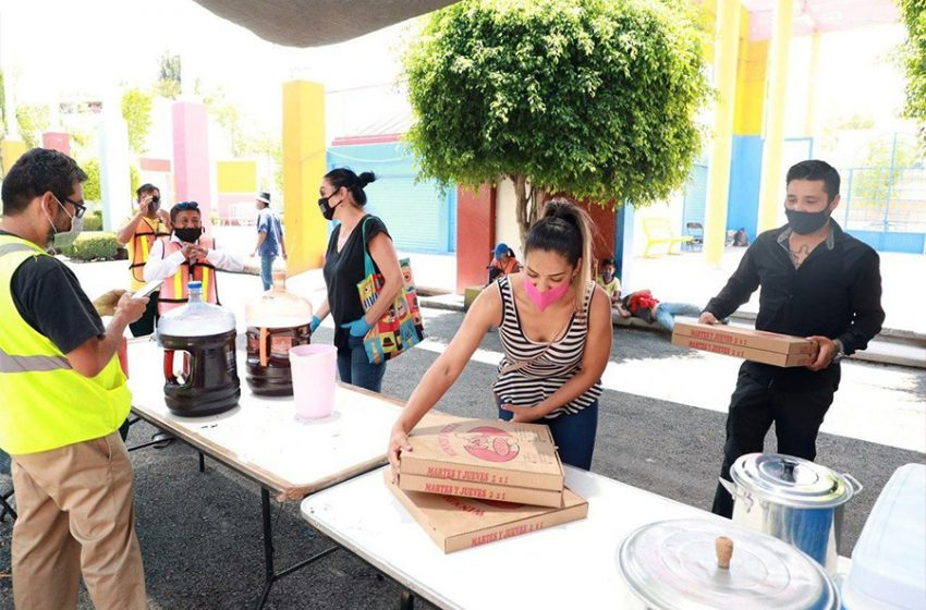 Continúan los apoyos para el Centro de Servicio Temporal para Personas en Situación de Calle