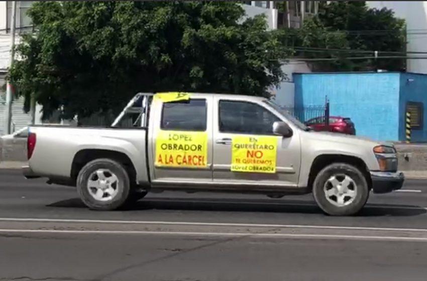 Tercera caravana de FRENA en Querétaro
