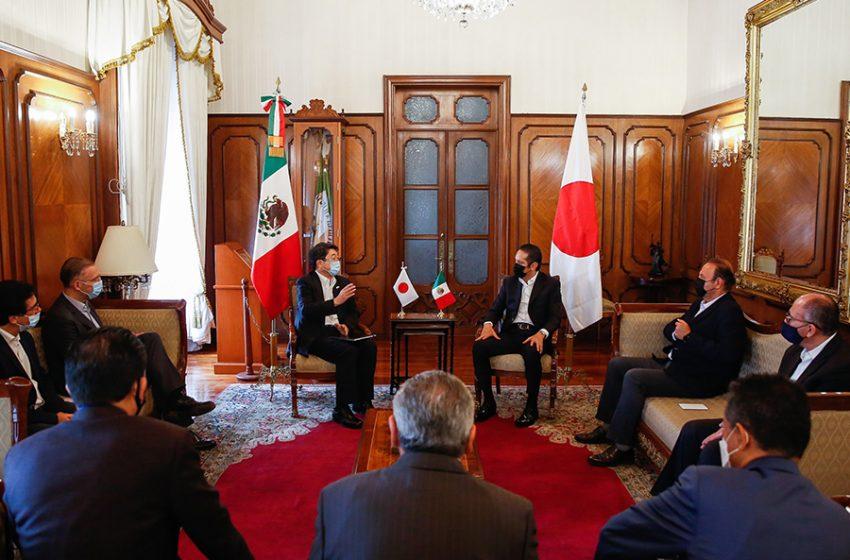 Querétaro y Japón rectifican sus intereses por establecer una agenda común para la atracción de inversiones