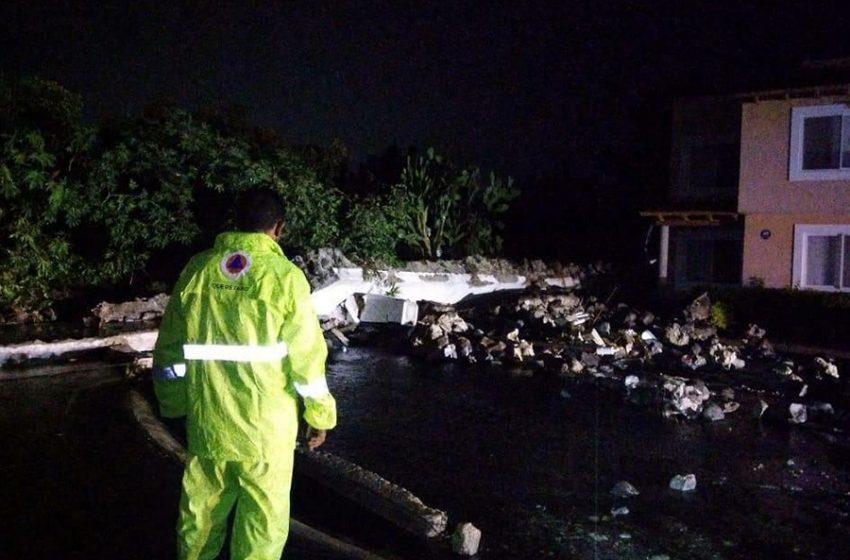 Protección Civil Municipal atiendió 7 viviendas afectadas por lluvias